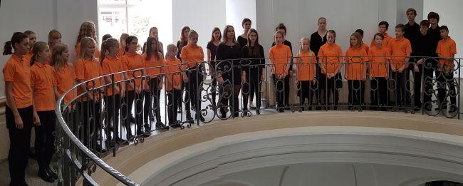 Treppenhaus-Konzert im Großen Miltärwaisenhaus