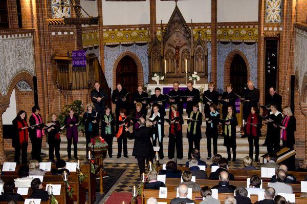 Weihnachtskonzert 2011 des Claudius-Ensemble